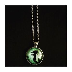Green Mermaid Necklace